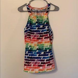 Collective Concepts Rainbow Multicolor Pride Tank